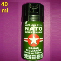 Spray Paralizant Nato Autoaparare 40 ml