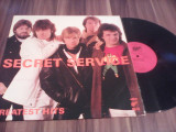 DISC VINIL SECRET SERVICE-GREATEST HITS DISC WIFON FOARTE RAR!!!!!STARE FB/EX
