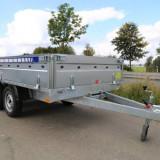 Remorca Platforma 750 kg Cu 2 Axe Si Dimensiune Utila 300x150 cm - Utilitare auto