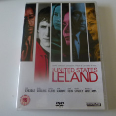 The united states of Leland - dvd - Film actiune independent productions, Engleza