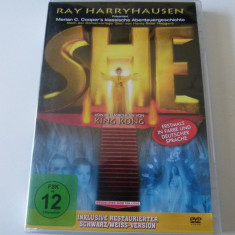 She - dvd - Film actiune independent productions, Altele