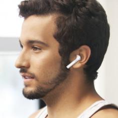 Casti Wireless  Bluetooth Apple Android IOS Microfon Handsfree Iphone Samsung