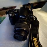 aparat foto dslr Nikon D40 body(fără obiectiv)