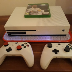 Xboxone s 2 Controllere+ Forza Horizon3+Fifa18 Noi la cutie+ Garantie+Gold live - Consola Xbox