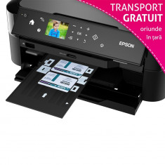 Imprimanta Epson L810 cu accesorii printare card PVC - Imprimanta inkjet