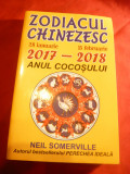 N.Somerville - Zodiacul Chinezesc - Anul Cocosului - Ed. 2016 , 320 pag.