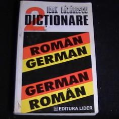 DICTIONAR GERMAN ROMAN-ROMAN-GERMAN=-ED-