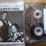 Freddie Mercury, Montserrat Caballe - Barcelona, Casete audio