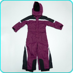 Combinezon—salopeta de iarna, impermeabila, TAKE & KARE → fetite | 2—3 ani | 98, Marime: Alta, Culoare: Mov, Fete
