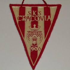 Mini fanion fotbal - SKS CRACOVIA (Polonia)