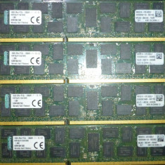 128GB Registered ECC RAM Kingston (8x16GB) 1600MHz PC3L 12800R - Memorie server Kingston, DDR3