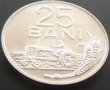 Moneda 25 Bani  - RS ROMANIA, anul 1982 *cod 271 --- PERFECT UNC, Aluminiu