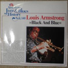 Vinyl Louis Armstrong - Black and Blue (American jazz&blues History vol. 140)VG+ - Muzica Jazz, VINIL