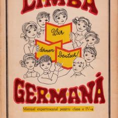 Limba germană clasa a IV-a, didactica si pedagogica