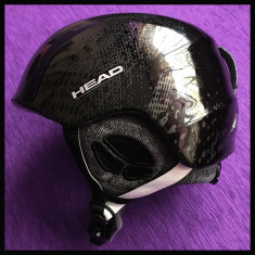 Casca ski/snowboard HEAD Rebel Dark Grey Glossy, marime L - Casca snowboard