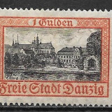 Danzig 1925, Nestampilat