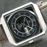 Ceas automatic Ricoh - 13 - Ceas barbatesc Citizen, Casual, Mecanic-Automatic, Inox, Piele, Ziua si data