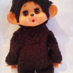 Monchhichi (kiki, Moncici) maimutica maimuta jucarie plus 21 cm, ochi mobili - Jucarii plus