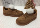 Tenisi maro cu puf pantofi sport adidasi papuci copii fete 30