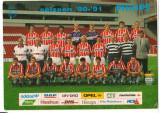 CPI (B9775) ECHIPA DE FOTBAL PSV EINDHOVEN 1990-1991, GHEORGHE (GICA) POPESCU