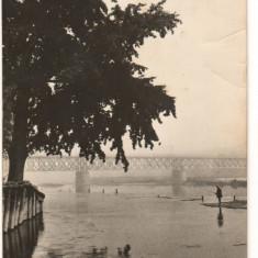 CPI (B9783) CARTE POSTALA - BACAU - LA BISTRITA - Carte Postala Moldova dupa 1918, Circulata, Fotografie