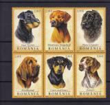 ROMANIA  2005  LP 1694  CAINI DE VANATOARE SERIE  MNH, Nestampilat
