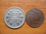 ROMANIA - 10 bani 1900 + CADOU 2 bani 1900 , Carol I , L 1.34