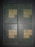 DICTIONAR ENCICLOPEDIC ROMAN  4 volume (1962-1966)