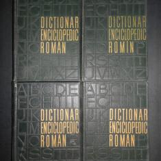 DICTIONAR ENCICLOPEDIC ROMAN 4 volume (1962-1966)