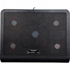 Cooler Pad Gaming Marvo Fn33 17 Inch Negru - Masa Laptop