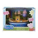 Jucarie Peppa Pig Grandpa Pigs Boat - Vehicul