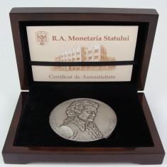 Medalie Romania Monetaria Statului Wolfgang Amadeus Mozart - Medalii Romania, An: 2006