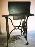 Masina de cusut germana veche. SCHUTZ MARKE. Sistem SINGER
