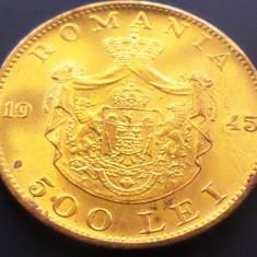 Moneda 500 Lei - ROMANIA, anul 1945 *cod 4963 --- Perfect UNC! - Moneda Romania