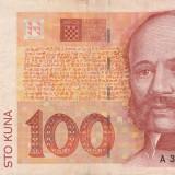 Croatia  100 Kuna 1993    P.32        VF