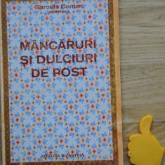 Mancaruri si dulciuri de post Garoafa Coman - Carte Retete de post
