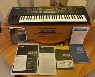 Sintetizator Yamaha MOXF6, nou, 24 luni garantie foto