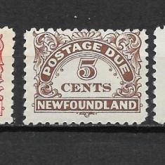 Newfoundland 1939, Nestampilat