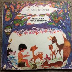 Maria sa puiul padurii disc dublu vinyl 2 lp mihail sadoveanu poveste copii exe - Muzica pentru copii electrecord, VINIL
