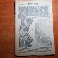 neamul romanesc 9 aprilie 1913-art. rezultatul conferintei de nicolae iorga