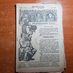 neamul romanesc 1 iunie 1913- articolul congresul nostru de nicolae iorga