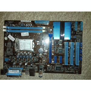 i5-2320 + placa de baza Asus P8H61 full -kit gaming +ram eventual