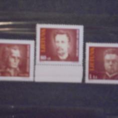 LITUANIA - PERSONALITATI :MAIRONIS, VINCAS KUDIRKA, KRISTIJONAS DONELAITIS -