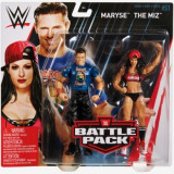 Set figurine Maryse & The Miz, WWE Battle Packs 51, Mattel