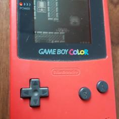NINTENDO Game Boy Color Cgb-001, FUNCTIONEAZA . - Consola Nintendo