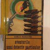 Carlo Manzoni, Aventurile unui detectiv particular