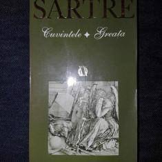 J-P. Sartre - Cuvintele. Greata - Carte de aventura