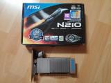 Placa video MSI N210 1gb ddr3 64 bit, PCI Express, 1 GB, nVidia
