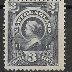 Newfoundland 1890, Nestampilat