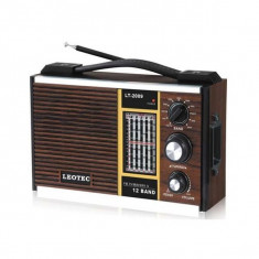 Radio portabil baterii sau priza prinde antena satelor si focus sat